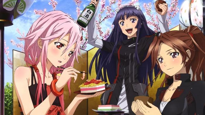 Tsugumi Guilty Crown, manga, Guilty Crown, Yuzuriha Inori