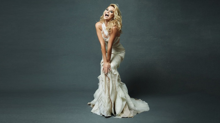 dress, gowns, Margot Robbie, actress, girl
