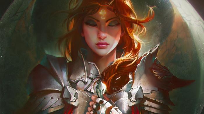 fantasy art, girl, artwork
