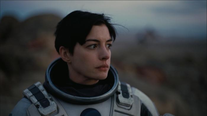 Anne Hathaway, girl, actress, spacesuit, Interstellar movie
