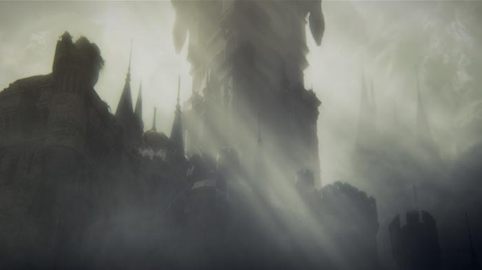 Gothic, knight, video games, sword, midevil, castle, landscape, fighting, Dark Souls III, fire, dark, Dark Souls
