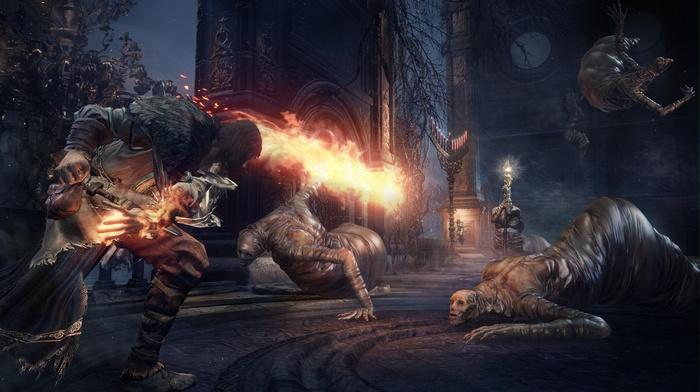 video games, castle, knight, Gothic, Dark Souls III, landscape, sword, fire, fighting, midevil, Dark Souls, dark
