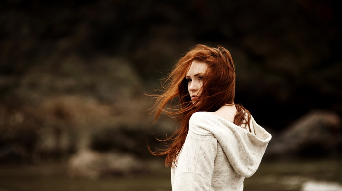 redhead, photography, red, girl
