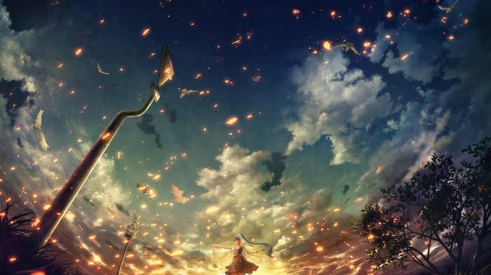 fantasy art, anime, artwork