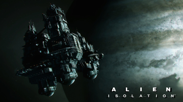 Alien movie, Aliens movie, concept art, video games, sevastopol, spaceship, space, Alien Isolation, spacestation, aliens, Nostromo, artwork, fantasy art