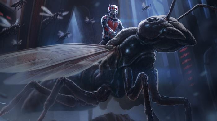 artwork, movies, Ant, man