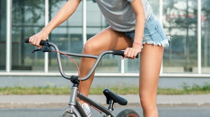 sport, girl, BMX