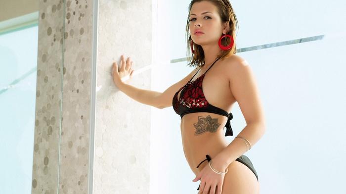 girl, model, pornstar, Keisha Grey, tattoo