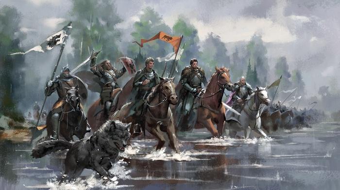 Game of Thrones, fantasy art, artwork