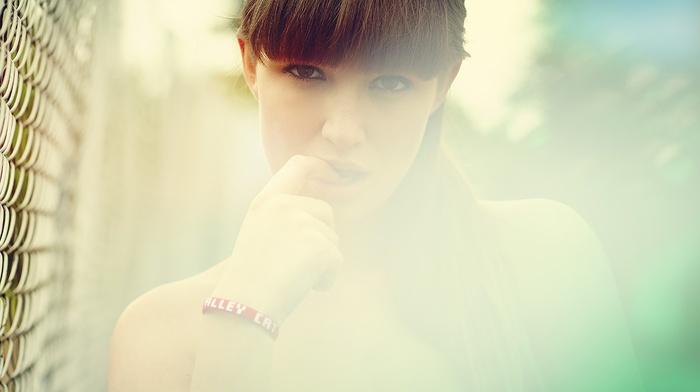 girl, portrait, model