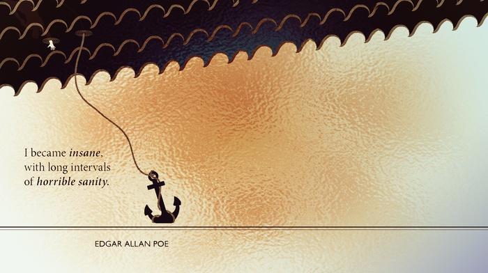 artwork, Book quotes, quote, Edgar Allan Poe