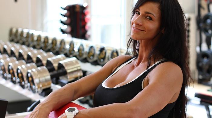 sports, Bodybuilder, girl