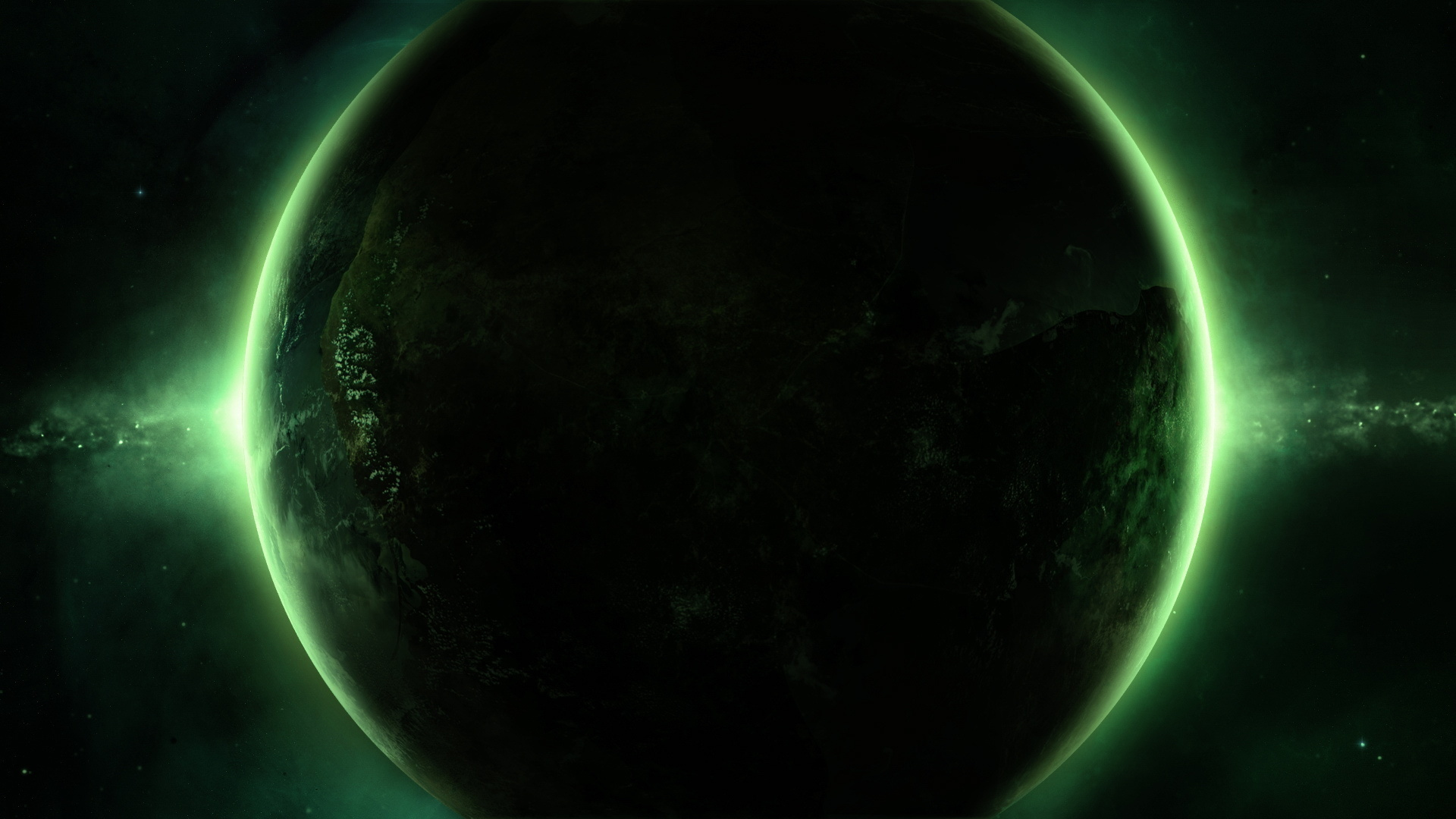space, planet, green - wallpaper #71213 (1920x1080px) on wallls