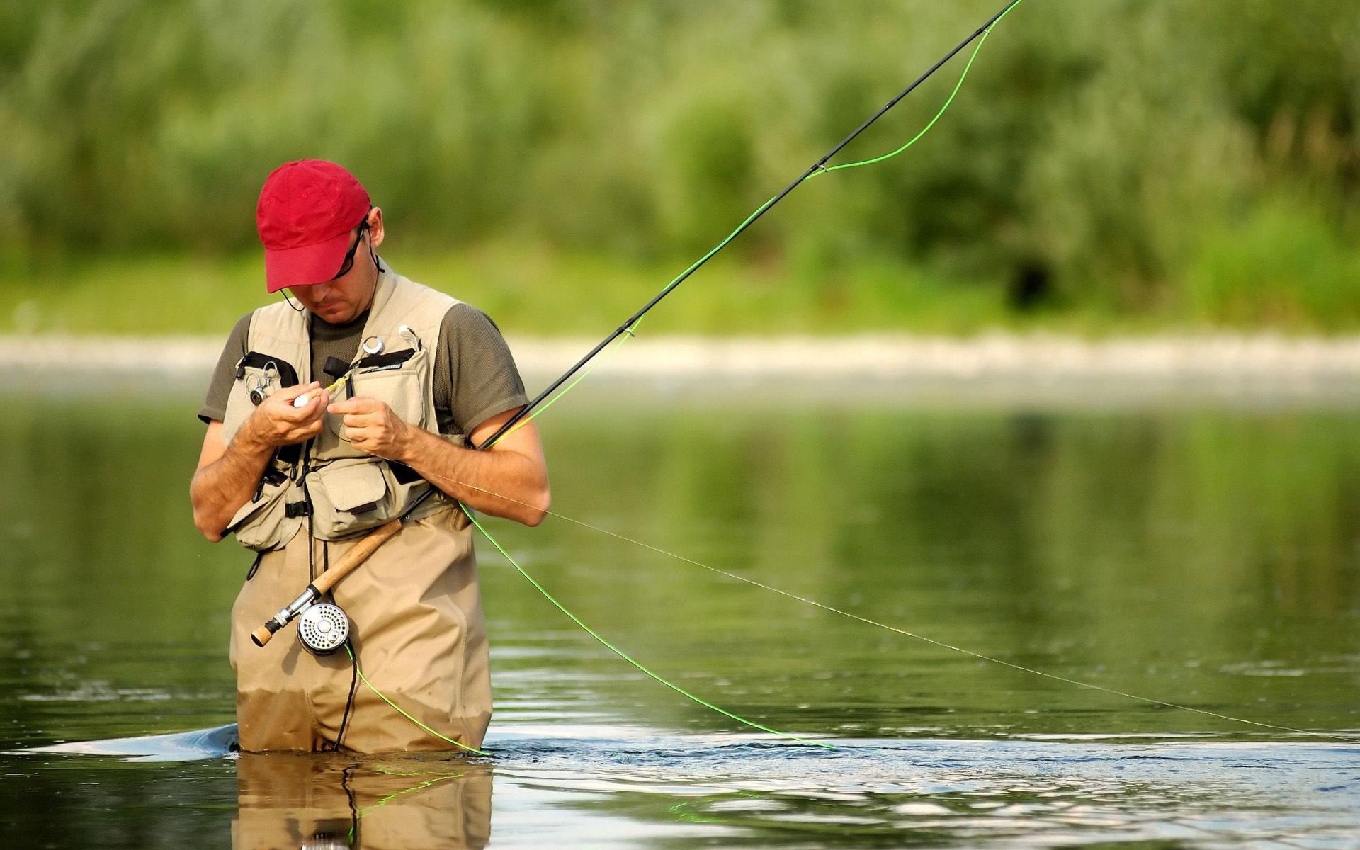 рыбак мужчина