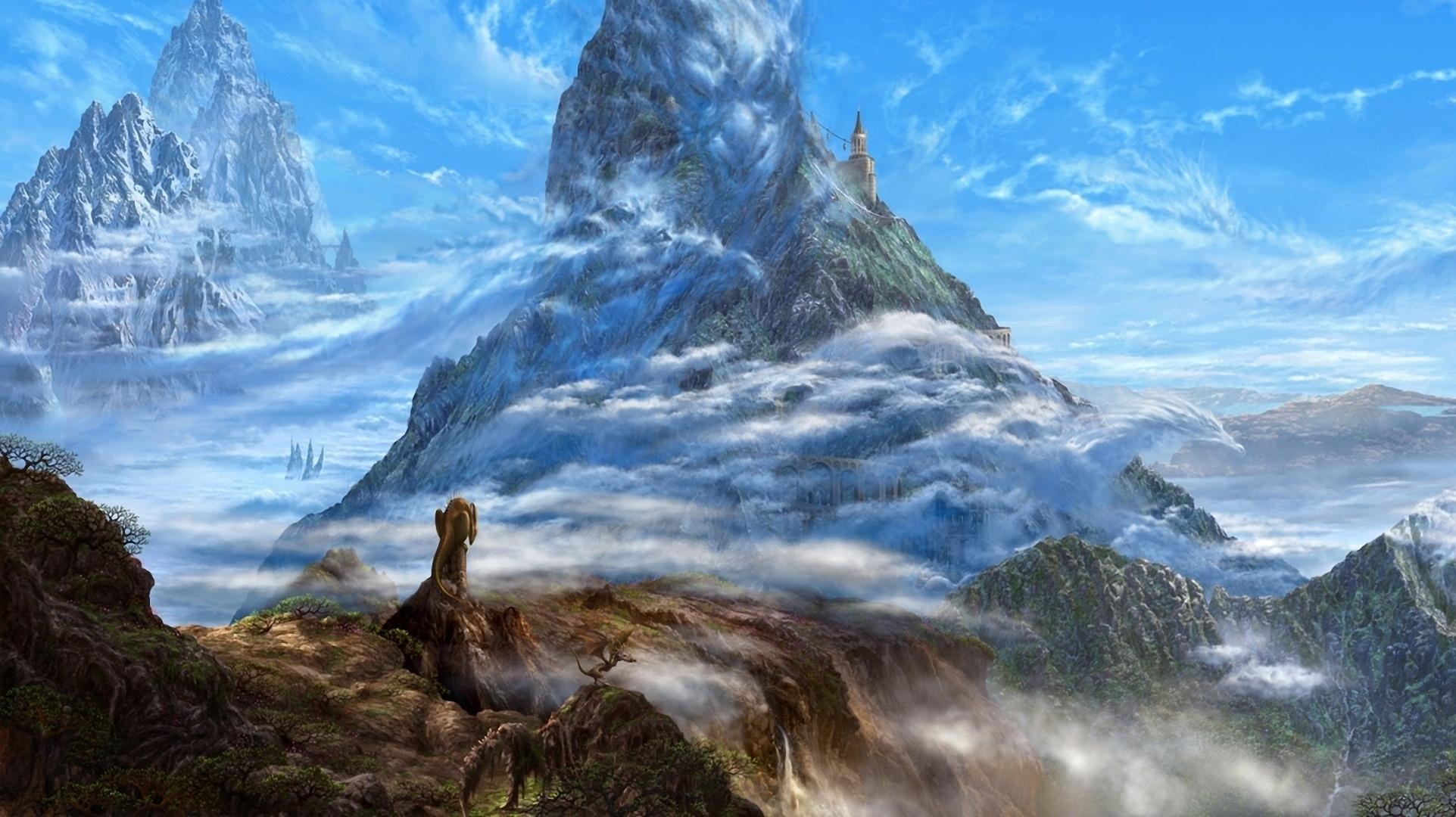 Cool Wallpaper Mountain Fantasy - wallls  2018_918485.jpg