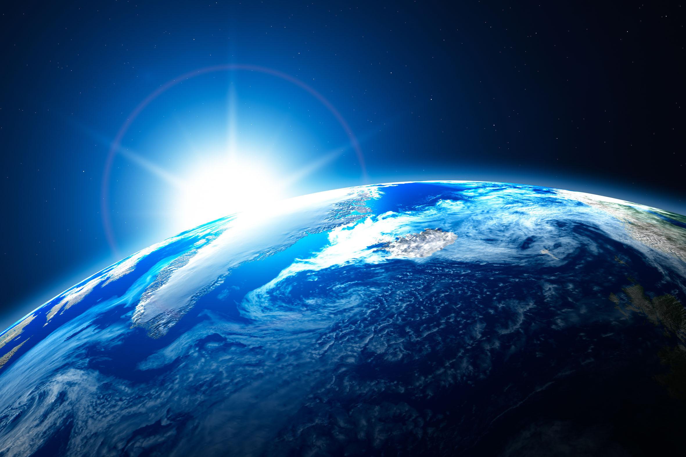 настоящее фото из космоса земли учетом того
