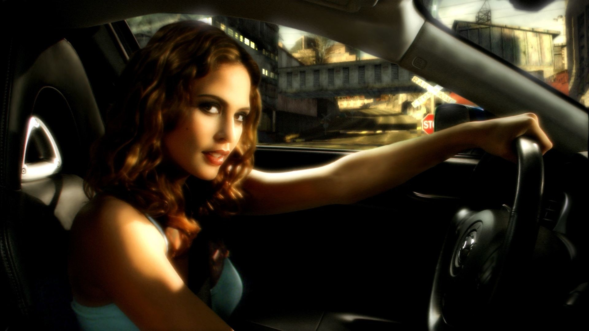Need For Speed Most Wanted Mia Josie Maran Girl With Cars