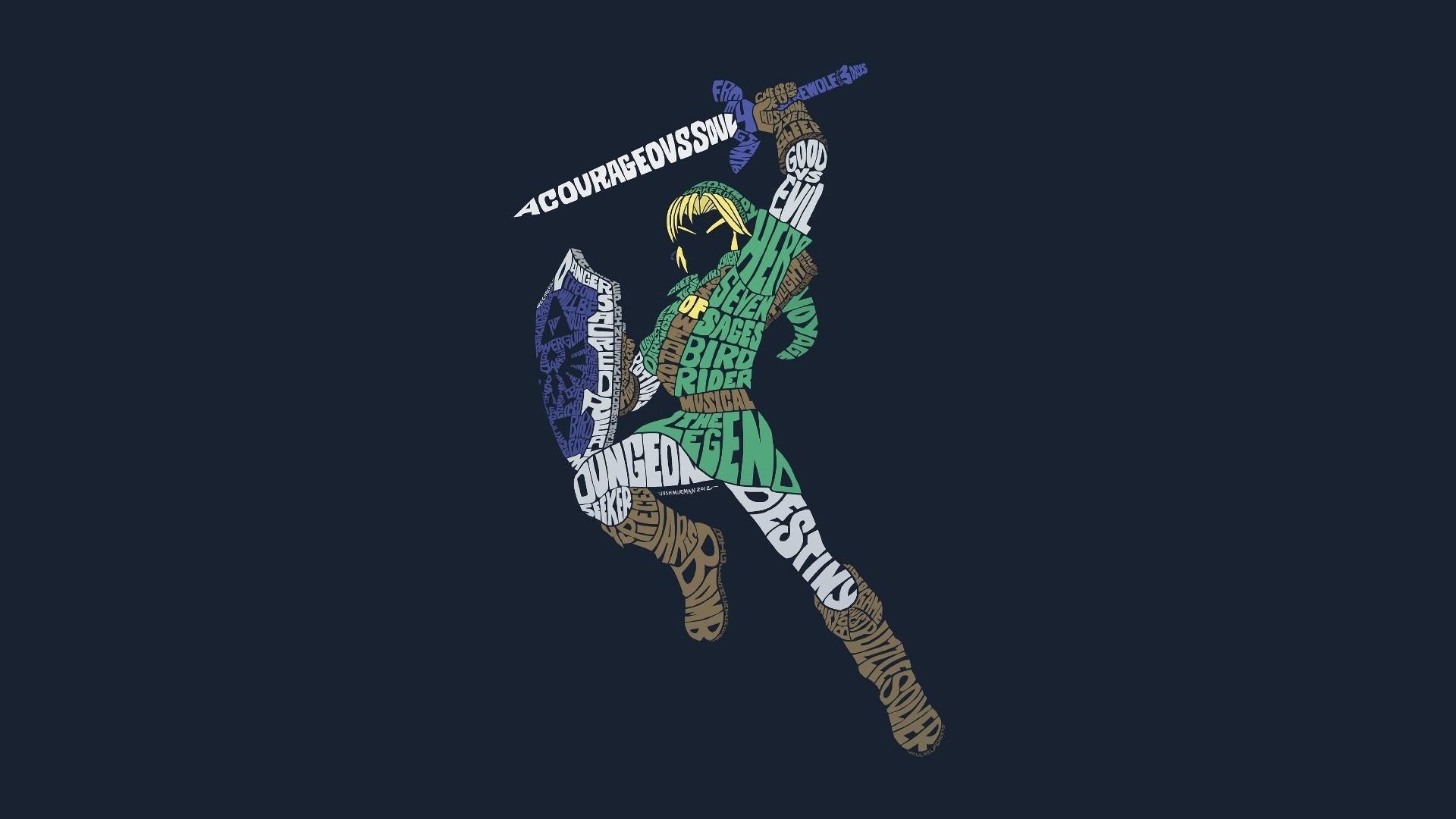 The Legend Of Zelda Link Triforce