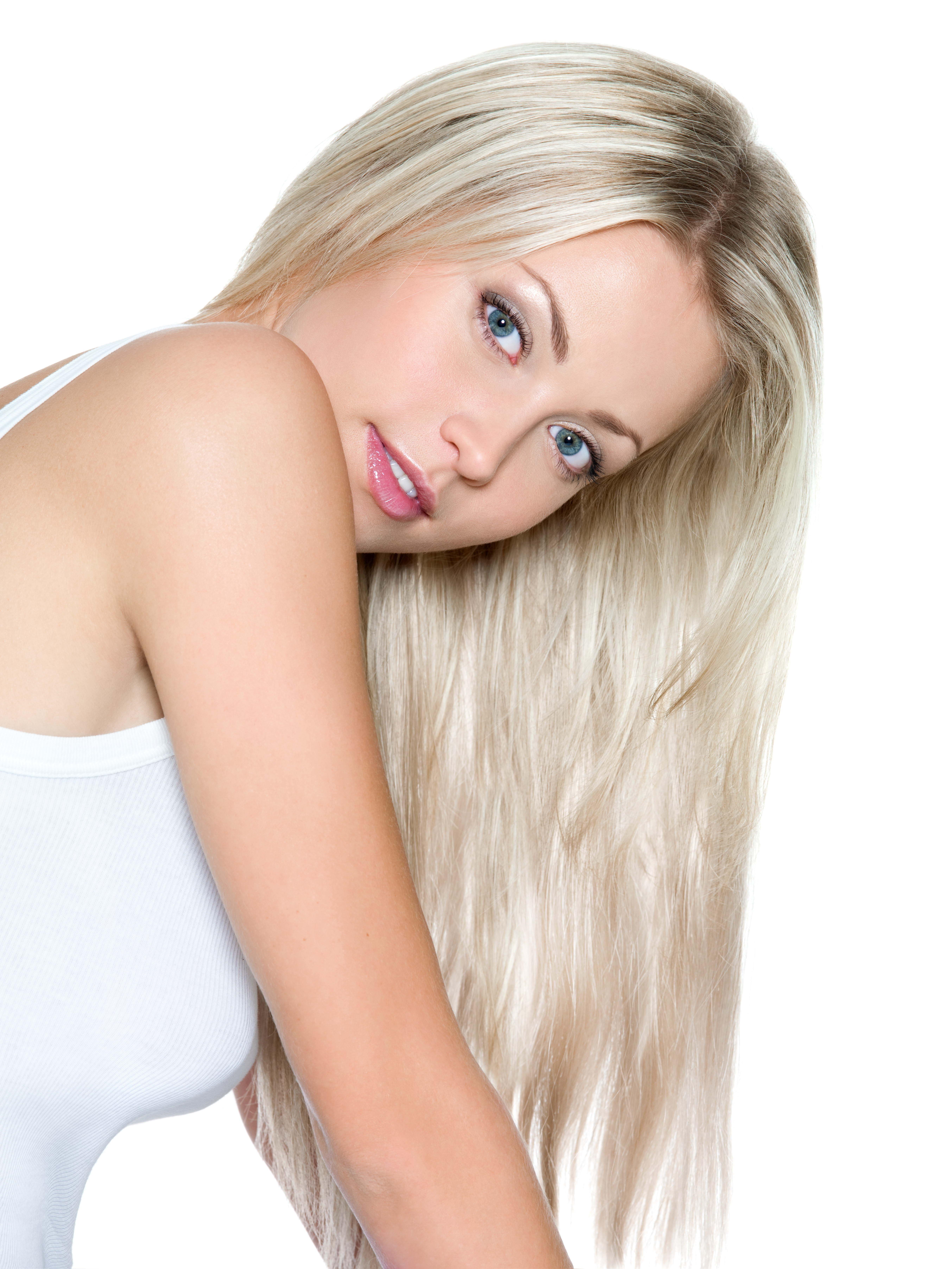 Русые длинноволосые девушки фото