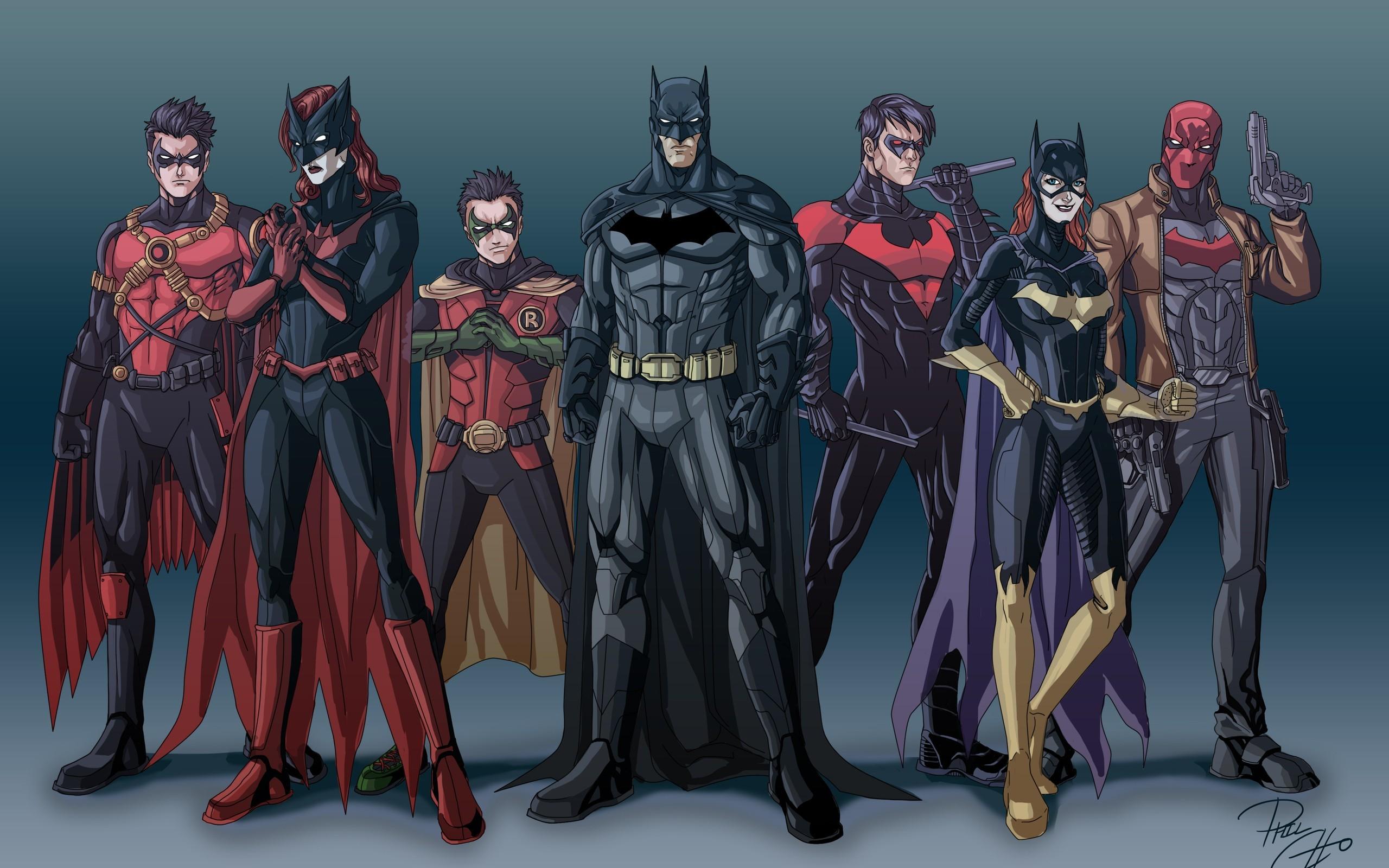 Batwoman Red Hood Robin Character Batman Nightwing