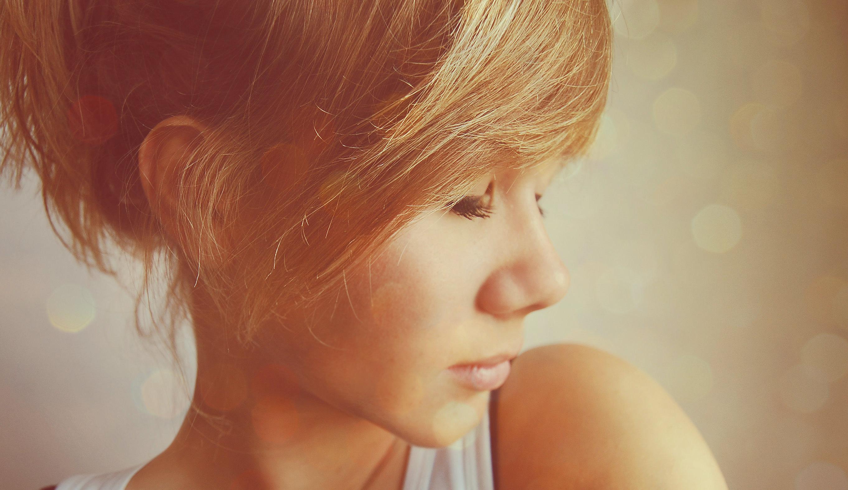 Фотосессии в профиль блондинок 4 фотография
