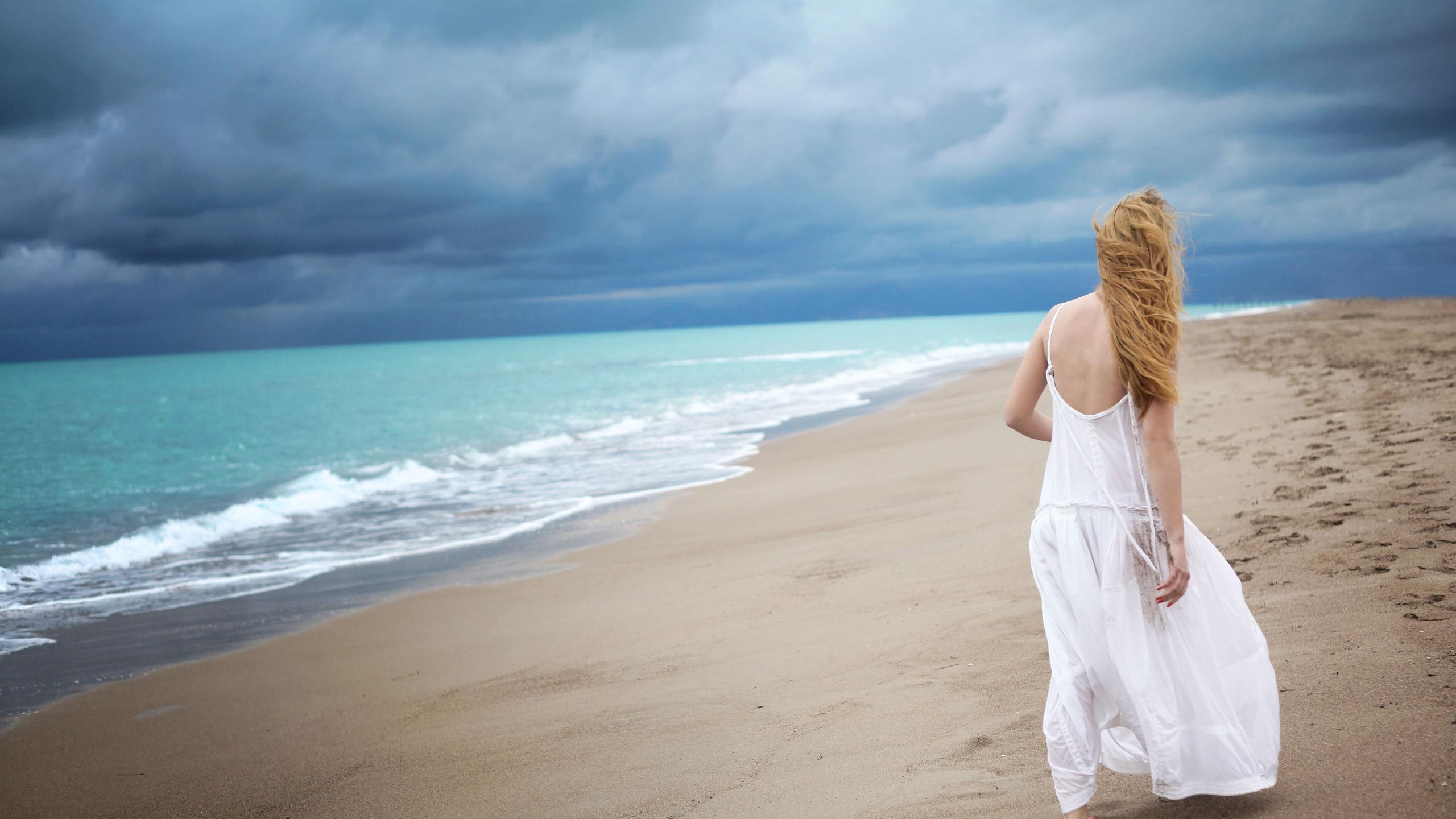 фото море и девушка-яу1