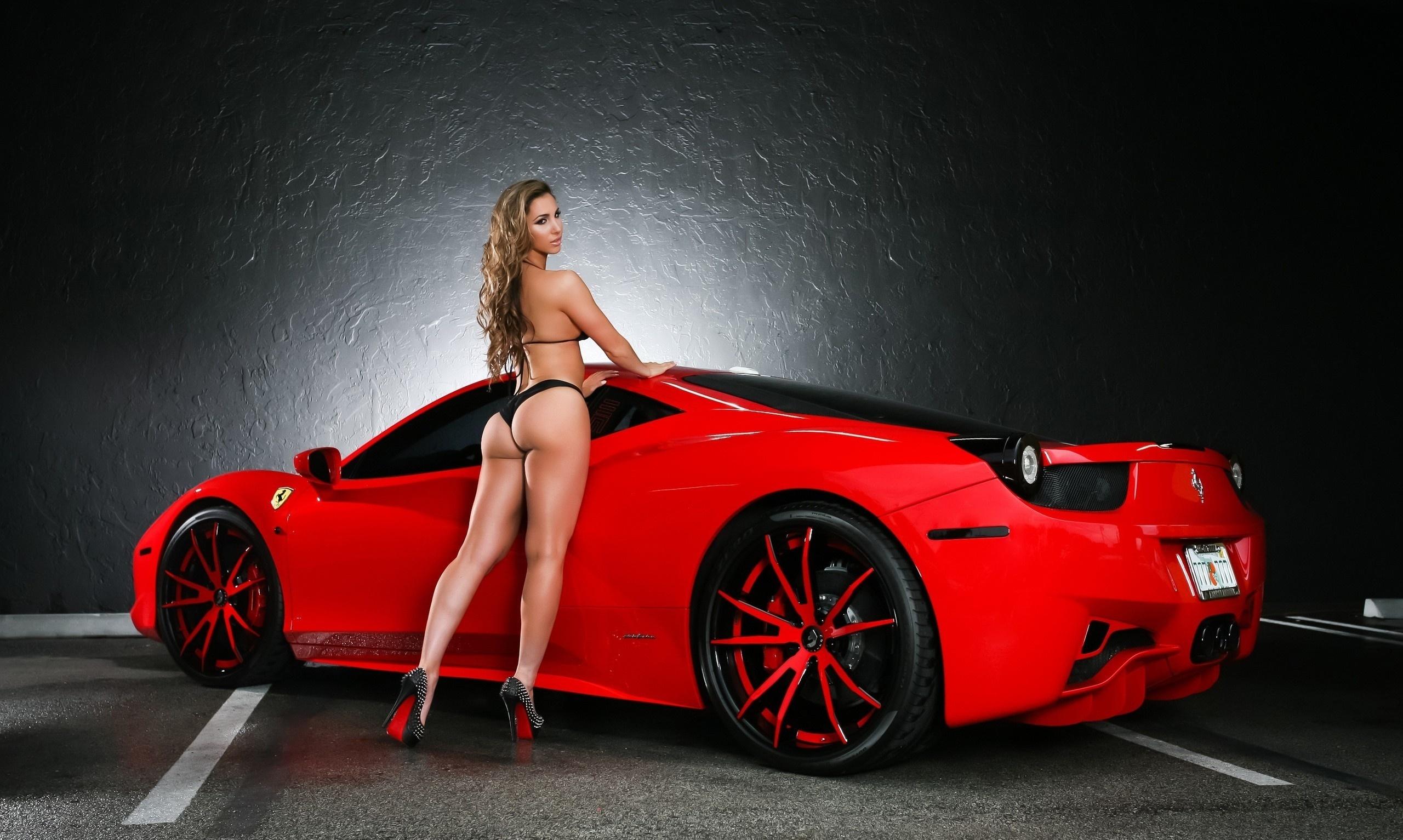 Шикарные девушки и шикарные машины фото