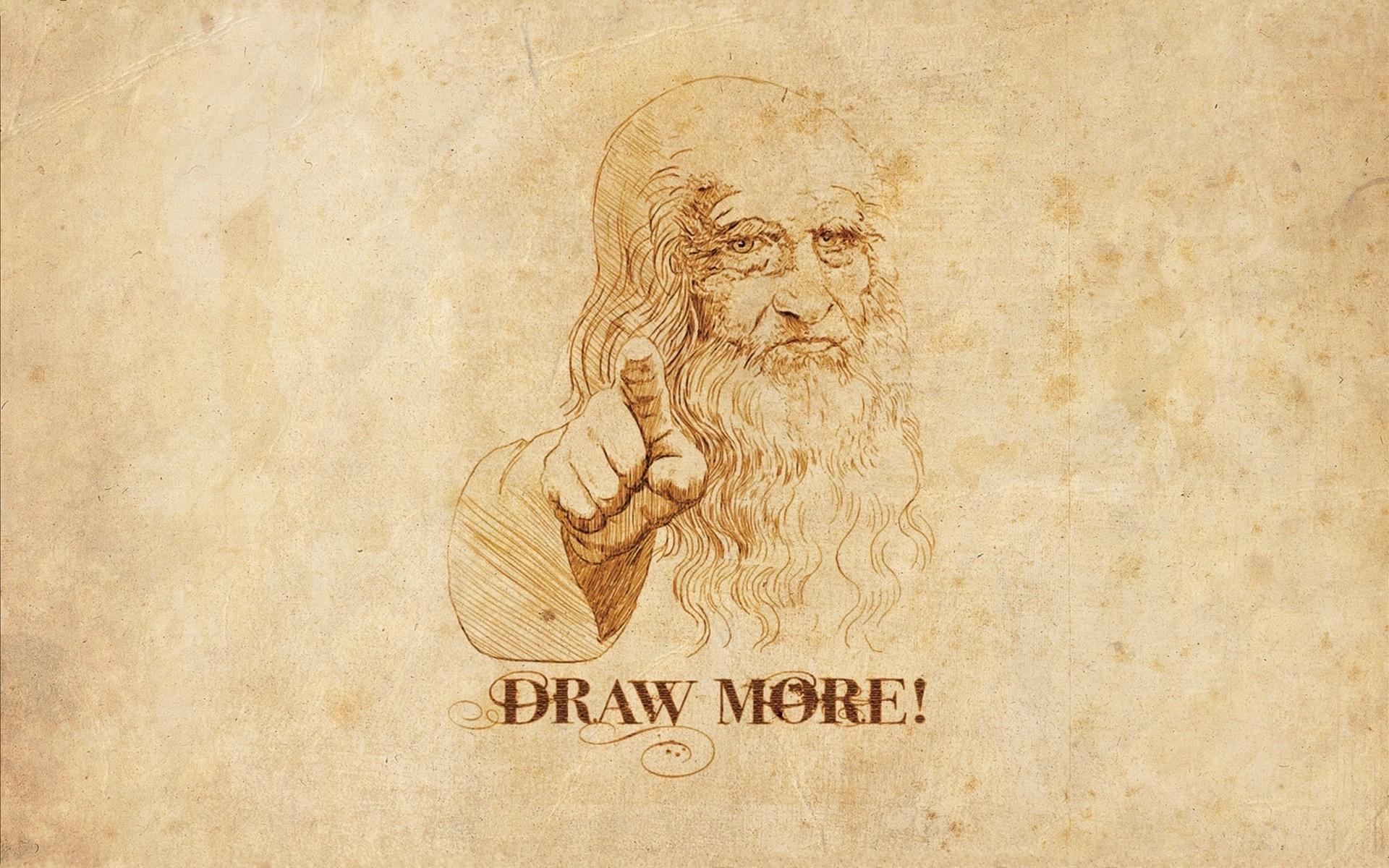 humor, Leonardo da Vinci - wallpaper #120131 (1920x1200px) on Wallls.com
