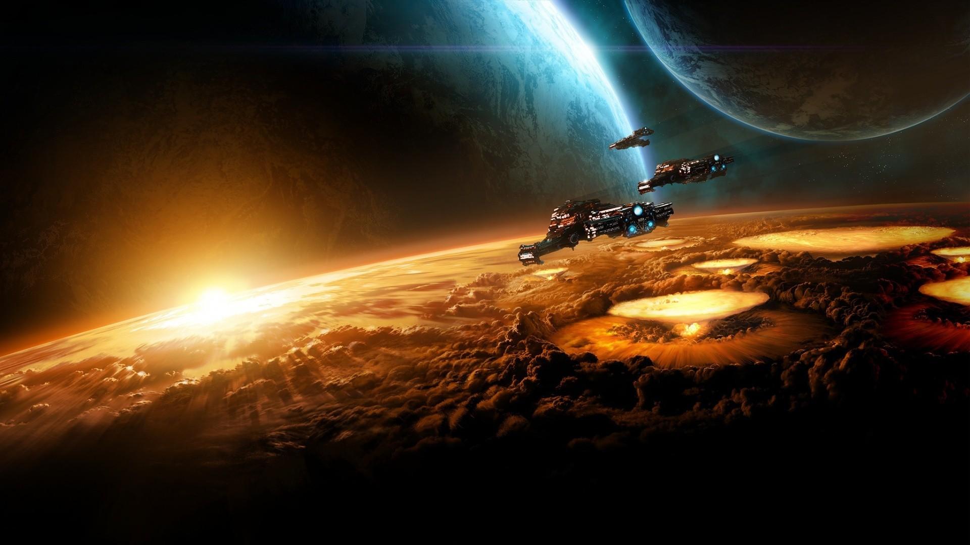 StarCraft, космос