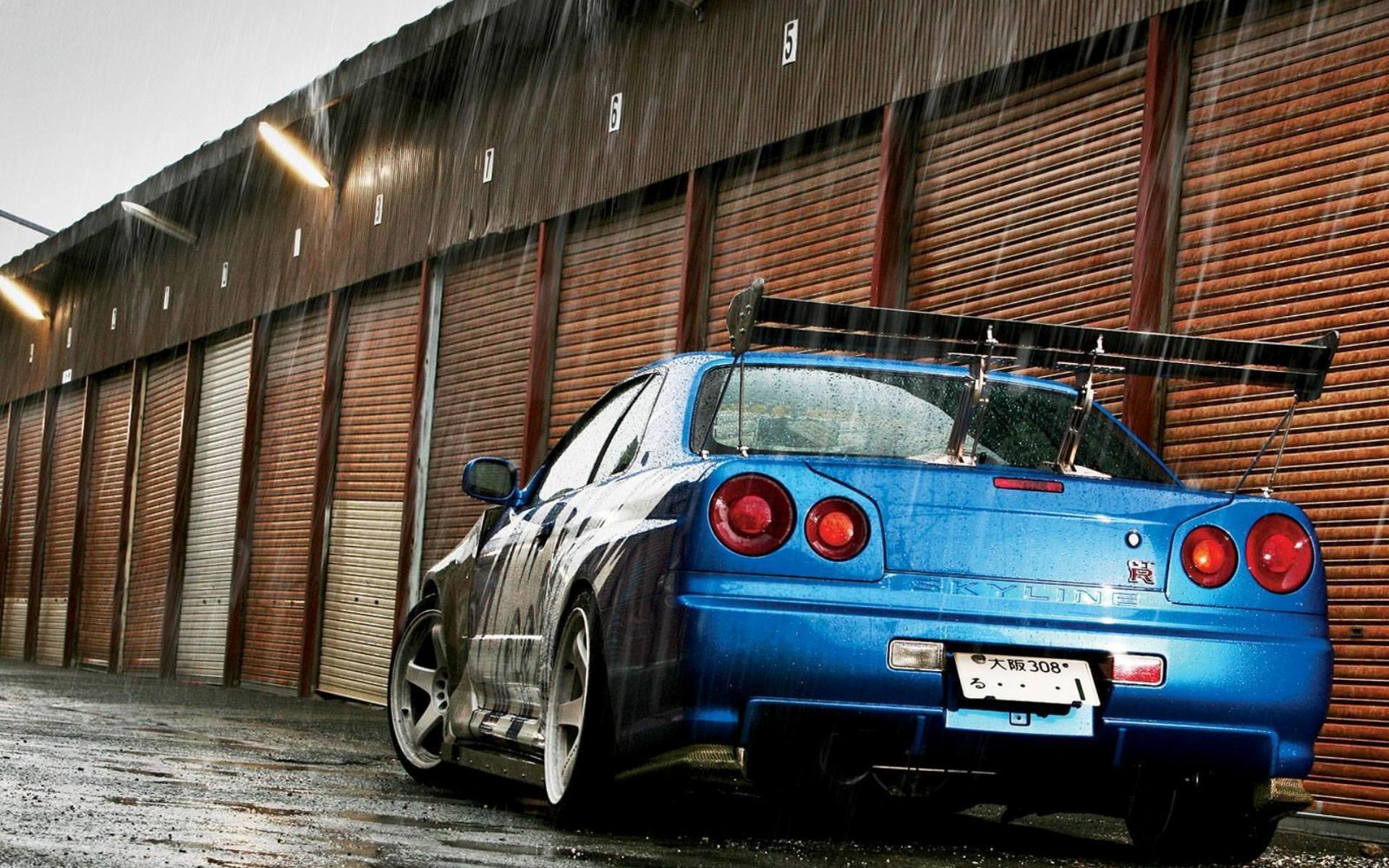 Nissan Skyline GT R R34 Car JDM
