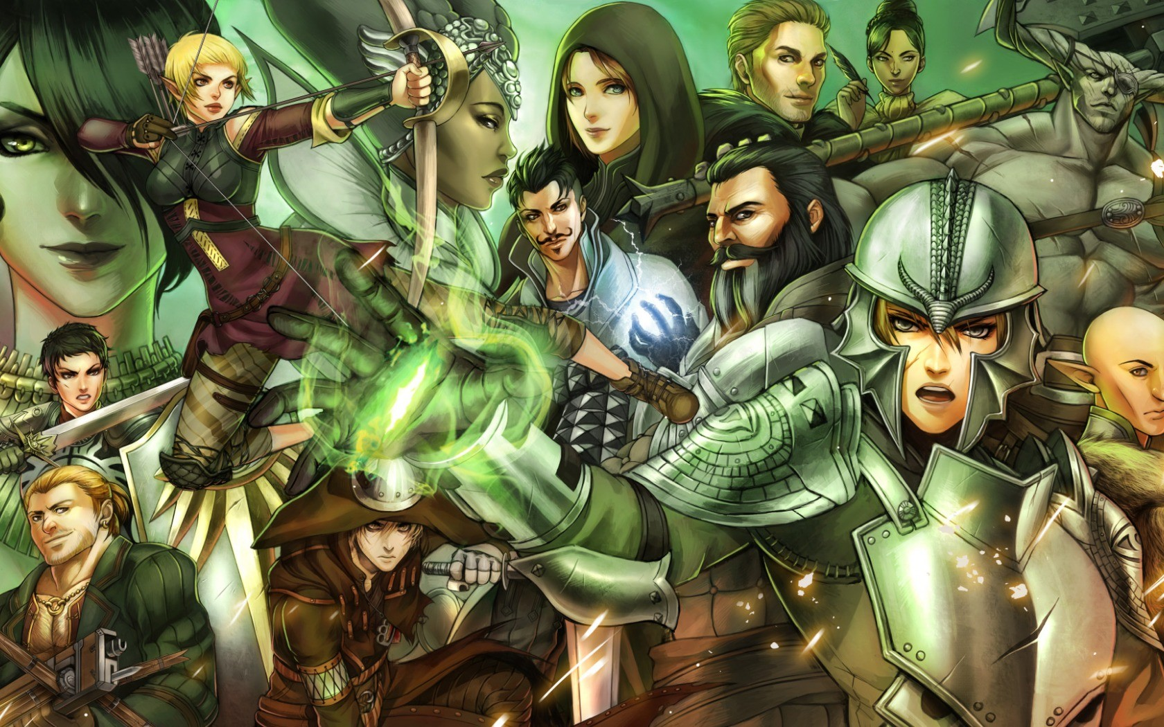 Dragon Age Inquisition Video Games Download Wallpaper