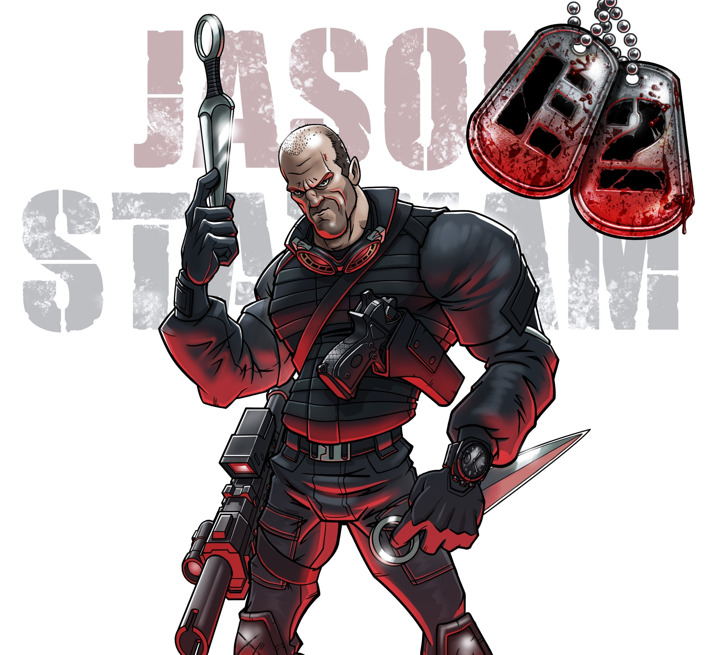 Jason Statham Expendables 3 Wallpaper