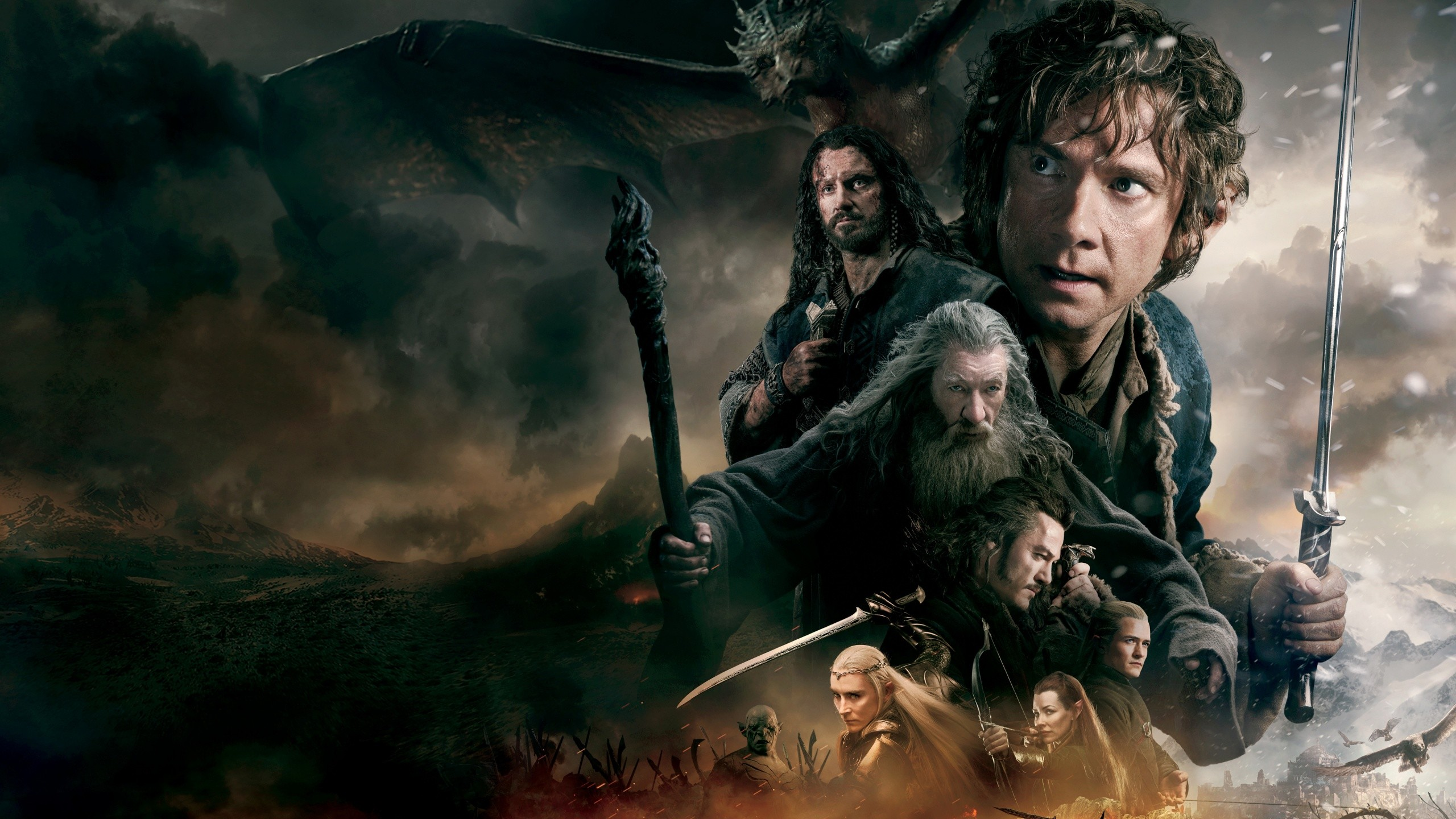 The Hobbit Battle Of Download Wallpaper