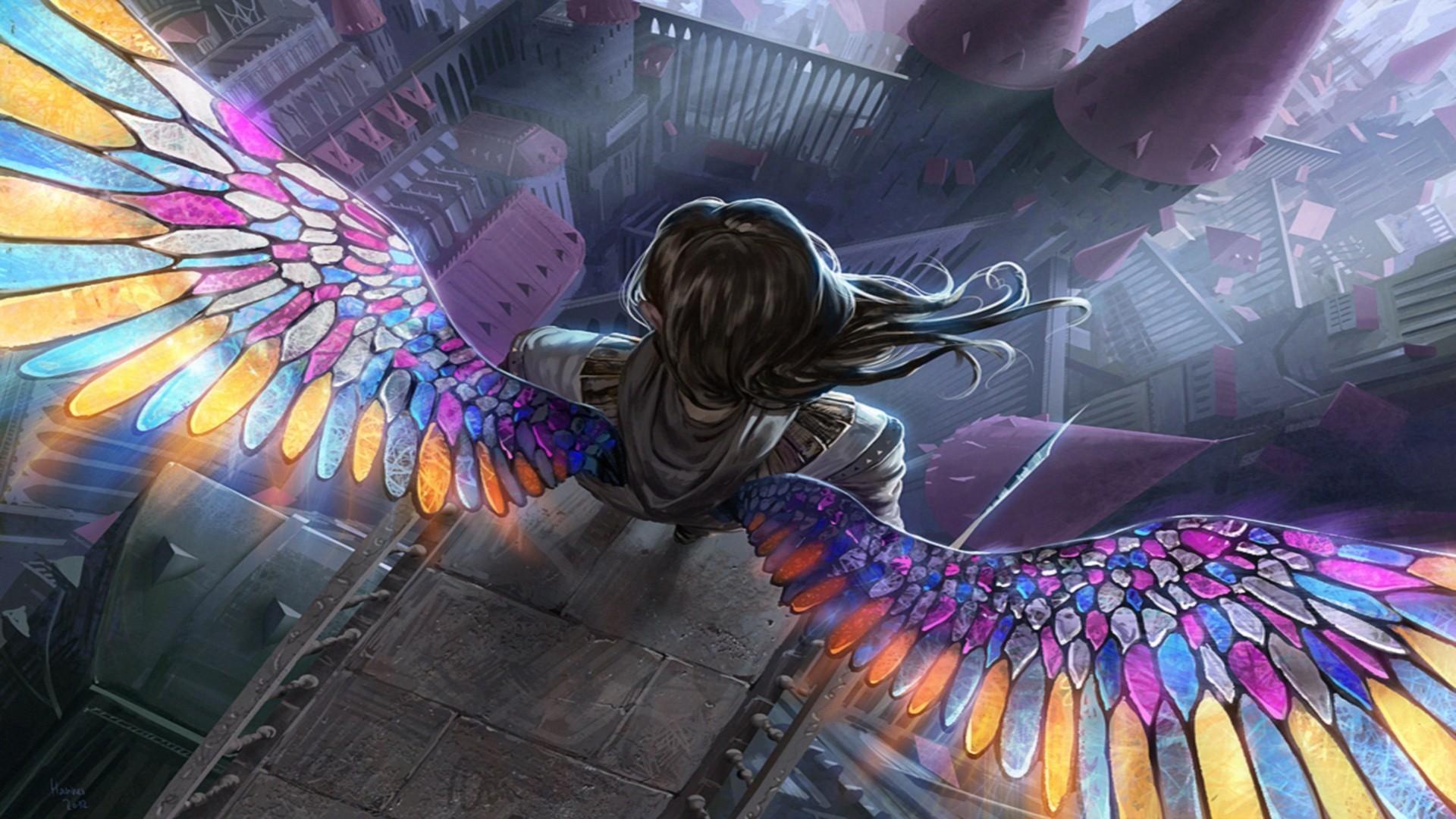 Angel Magic The Gathering Fantasy Art Download Wallpaper