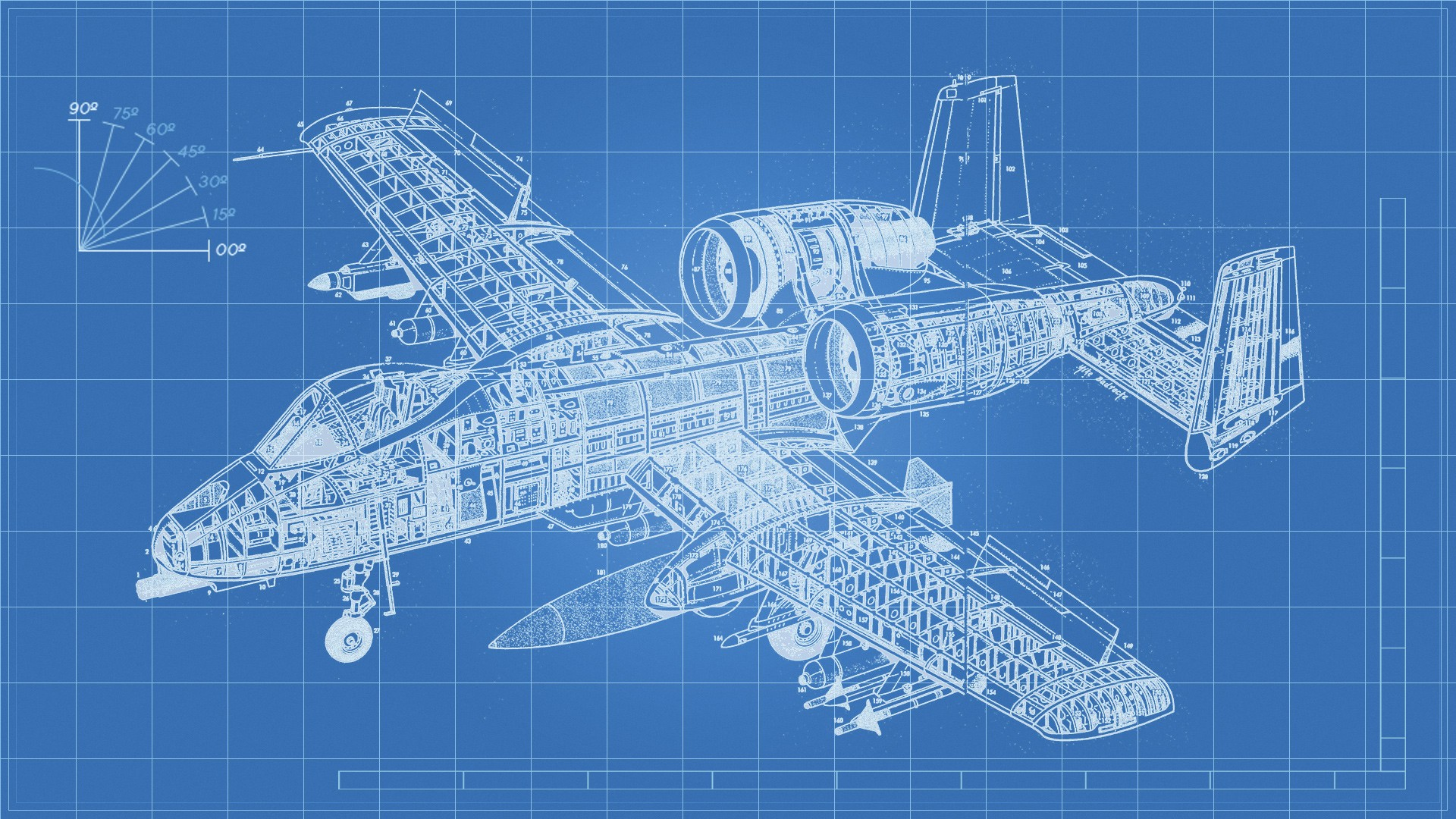Airplane engineering a 10 thunderbolt blueprints technology download wallpaper malvernweather Choice Image