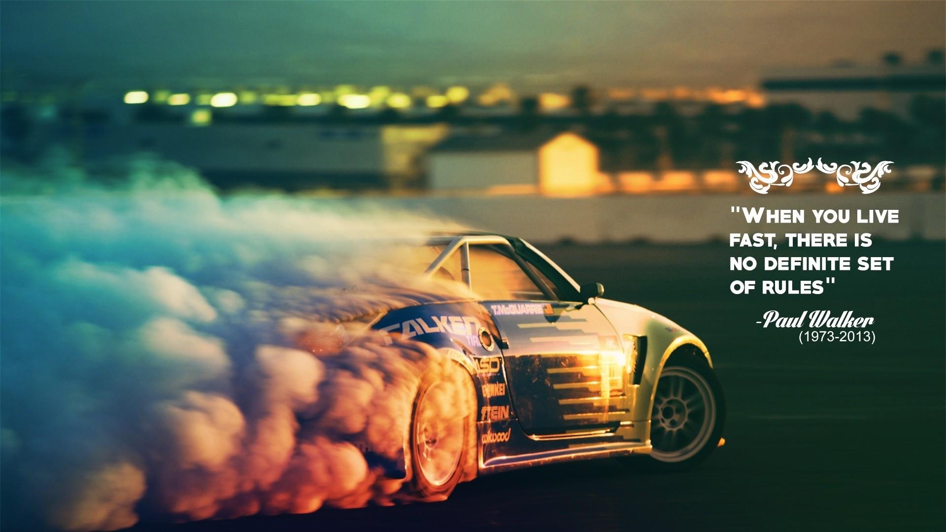 Race Cars Paul Walker Download Wallpaper