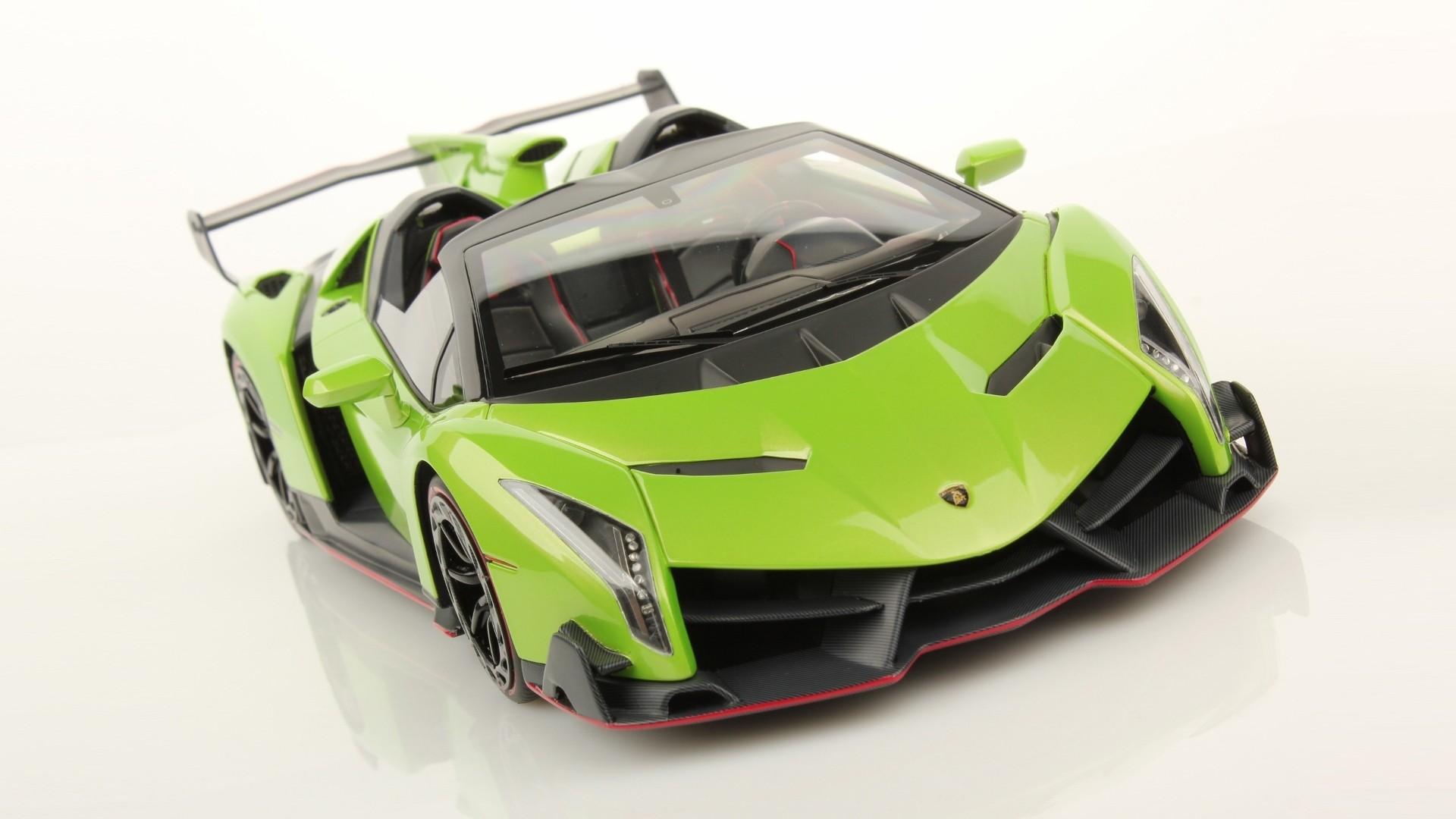 Green Cars Lamborghini Veneno Download Wallpaper