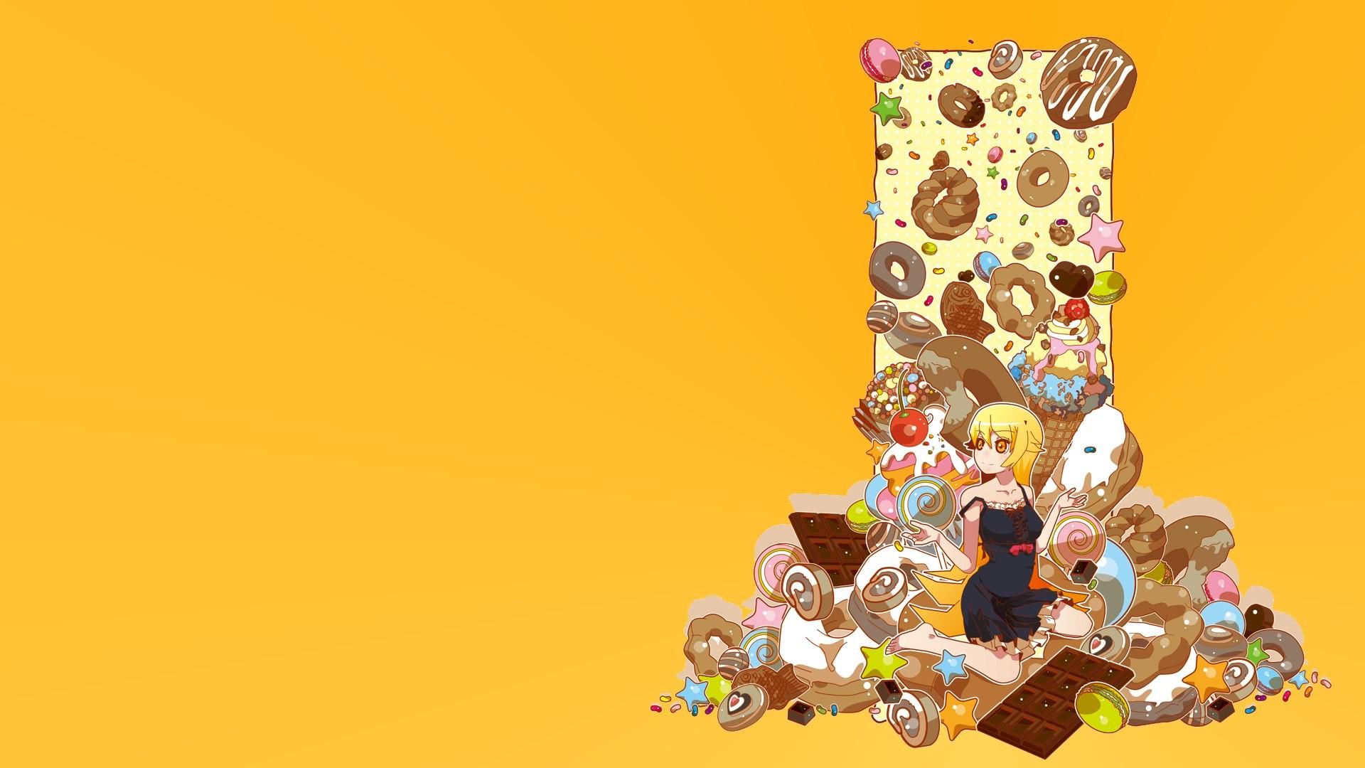 Sweets Donut Monogatari Series Oshino Shinobu