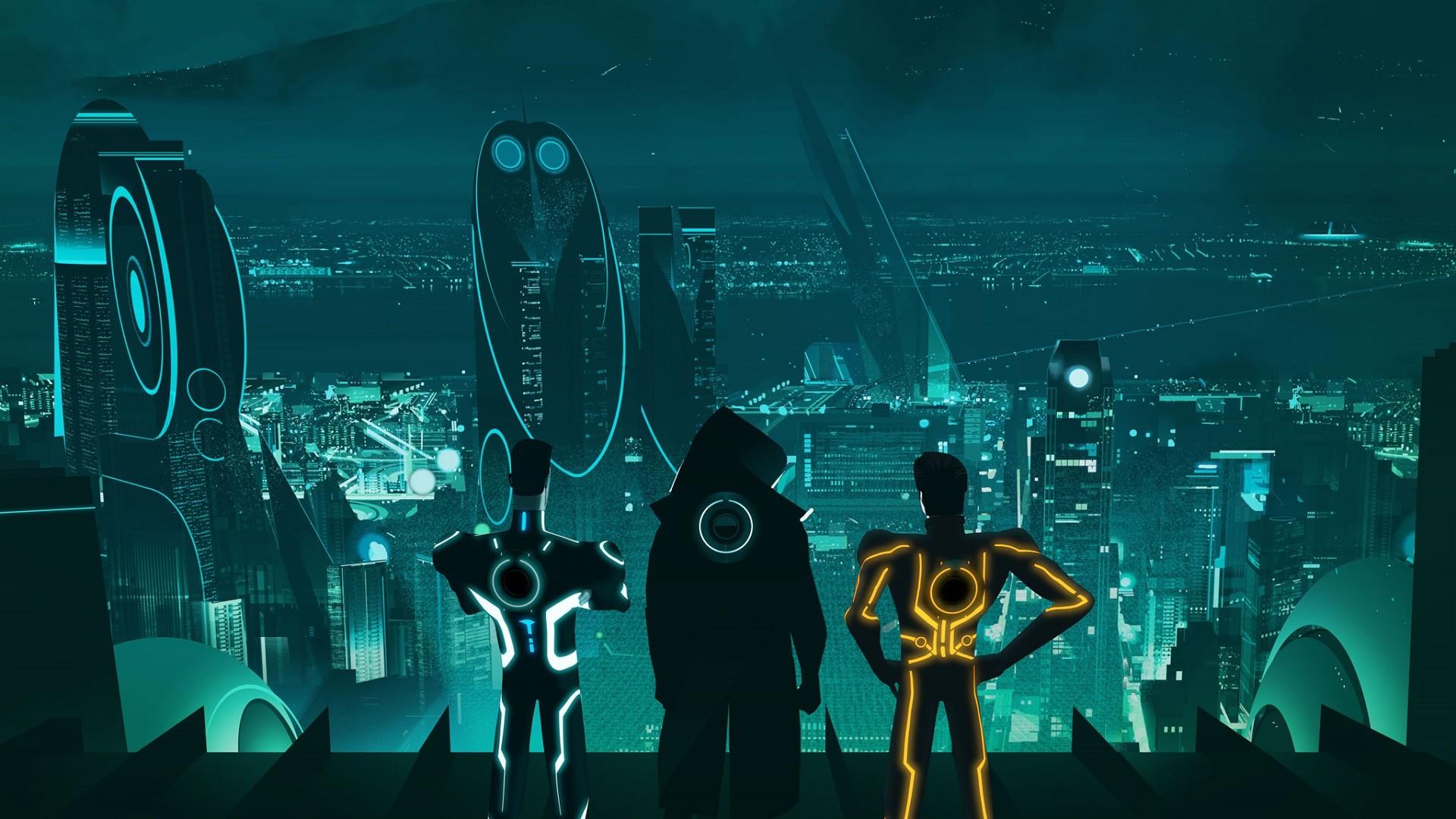 escape from argon city, tron uprising, tron, video games, futuristic