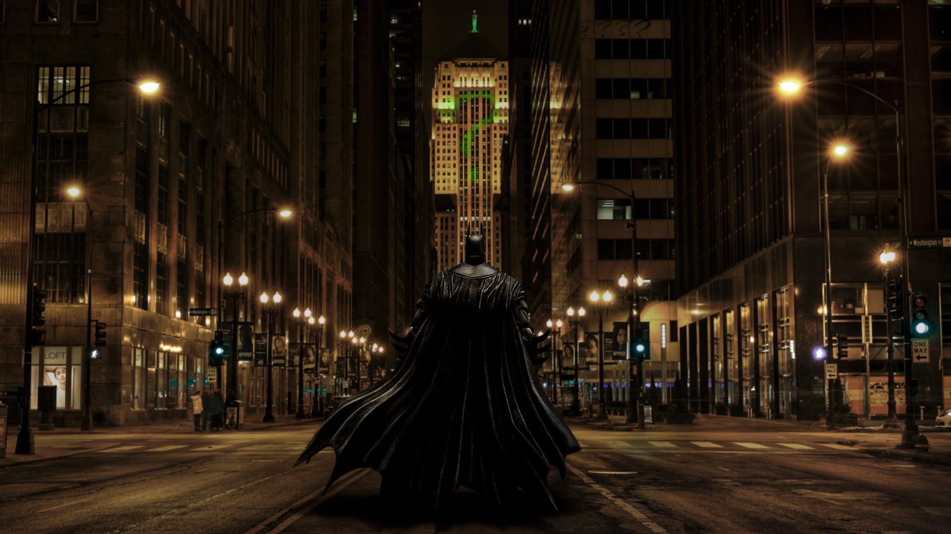 The Riddler Photoshopped Dark Knight Batman Gotham City Fan