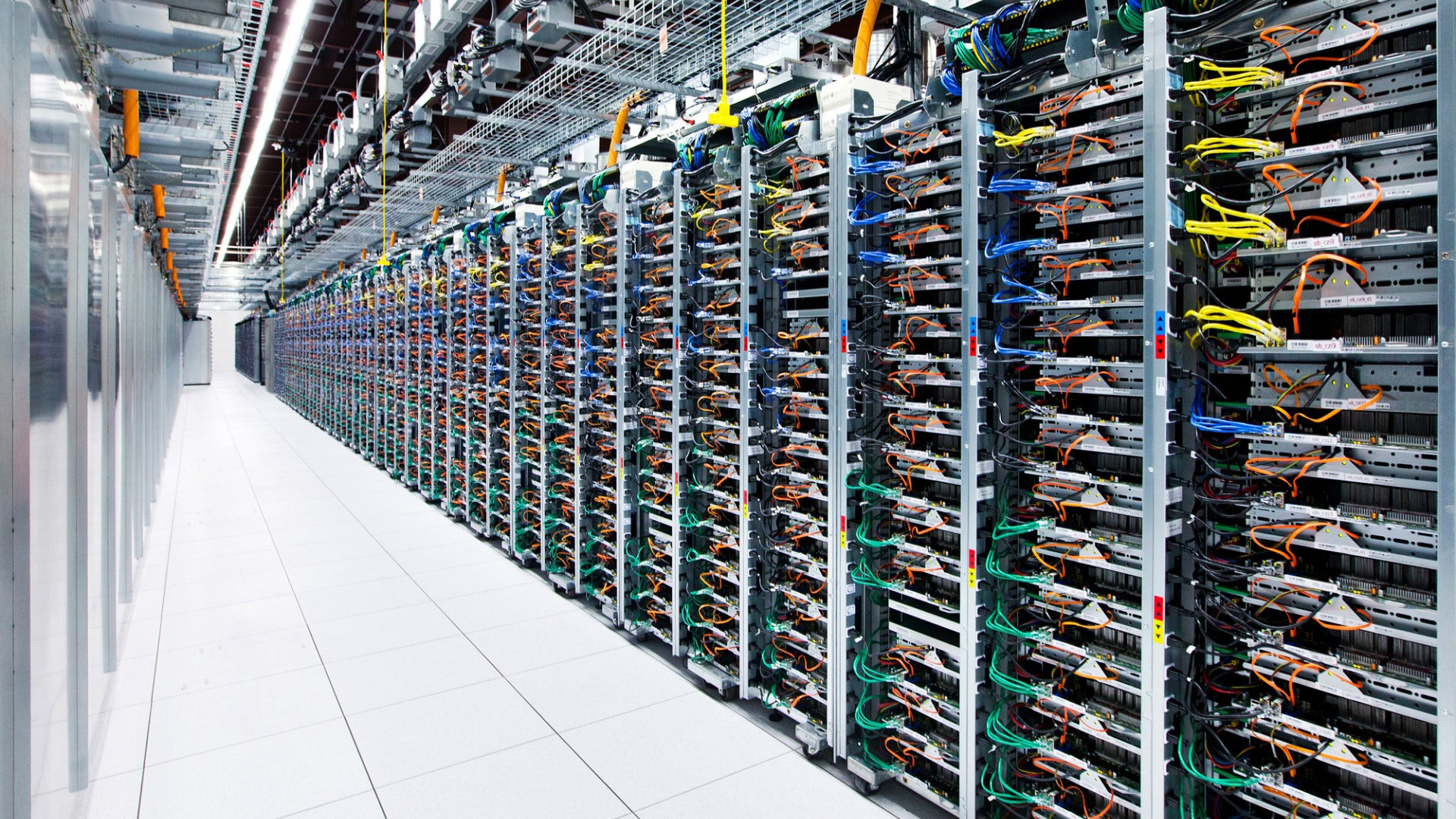 Data Center Computer Network Google Server