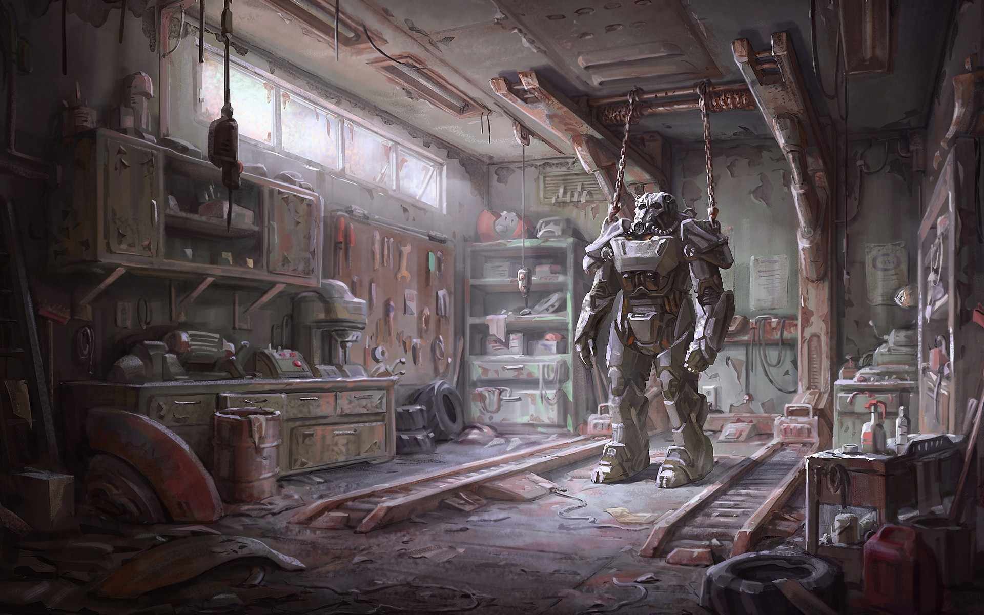 Fallout 4 Concept Art Armor Video Games Brotherhood Of