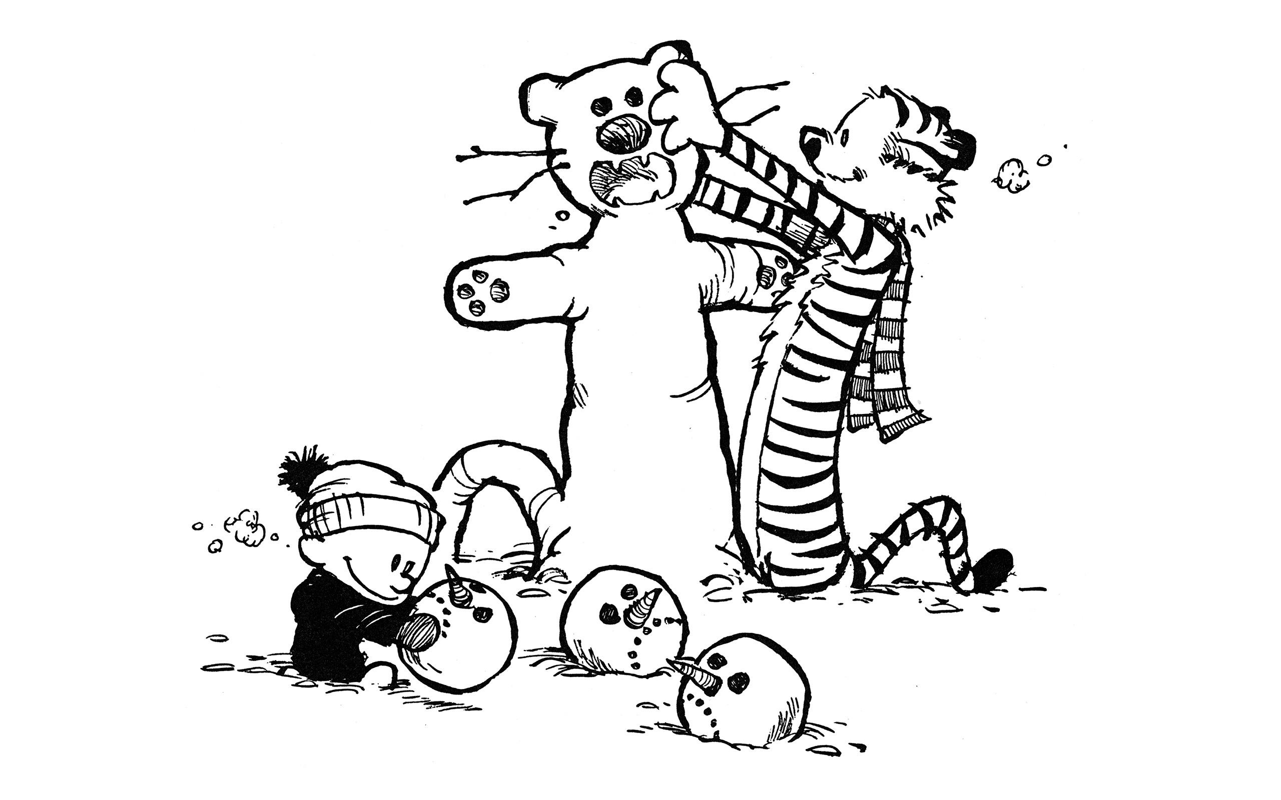 Calvin And Hobbes Comics Download Wallpaper