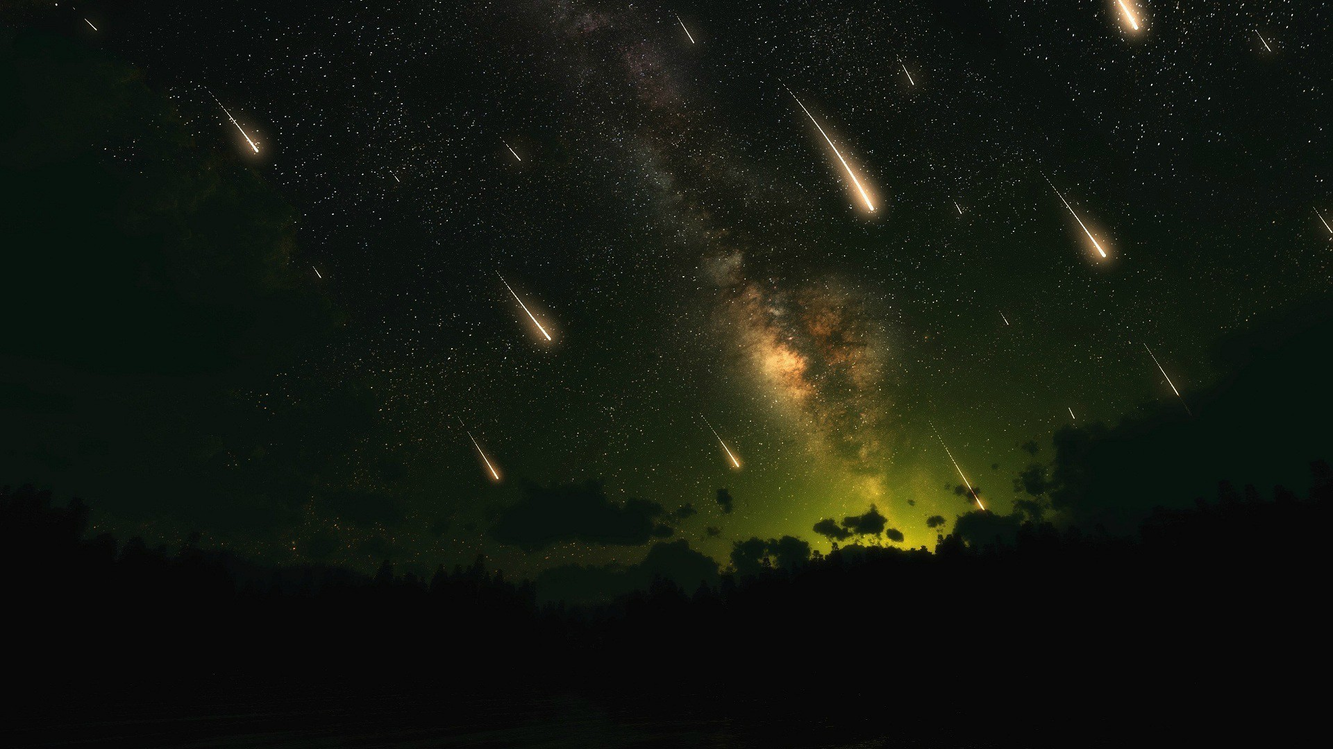 skyrim shooting stars