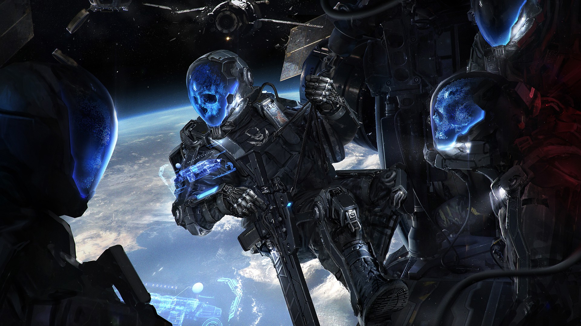 Science Fiction Digital Art Space Military Futuristic