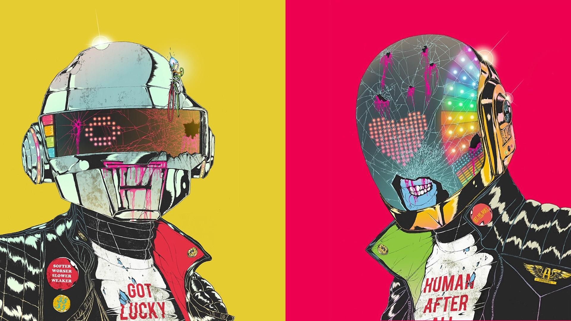 music, Daft Punk, cyborg - wallpaper #162992 (1920x1080px) on Wallls.com