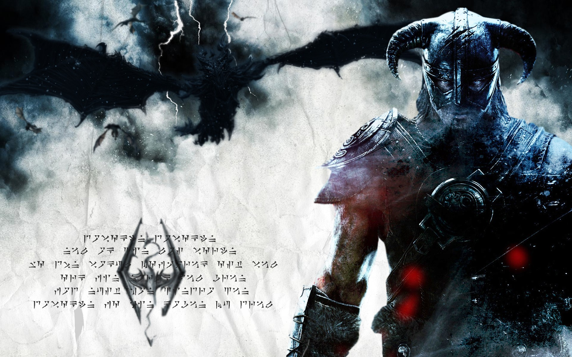 The Elder Scrolls V Skyrim Dovahkiin Dragon Dragonborn
