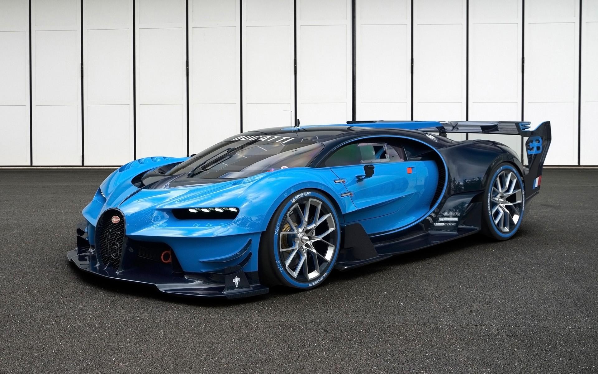 blue cars, Bugatti Veyron, car, Bugatti Vision Gran Turismo, vehicle ...