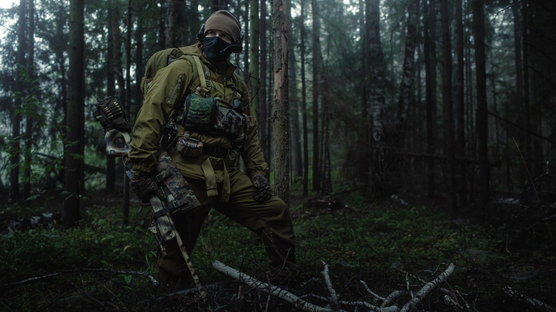 Russian Army Forest Special Forces Spetsnaz Military