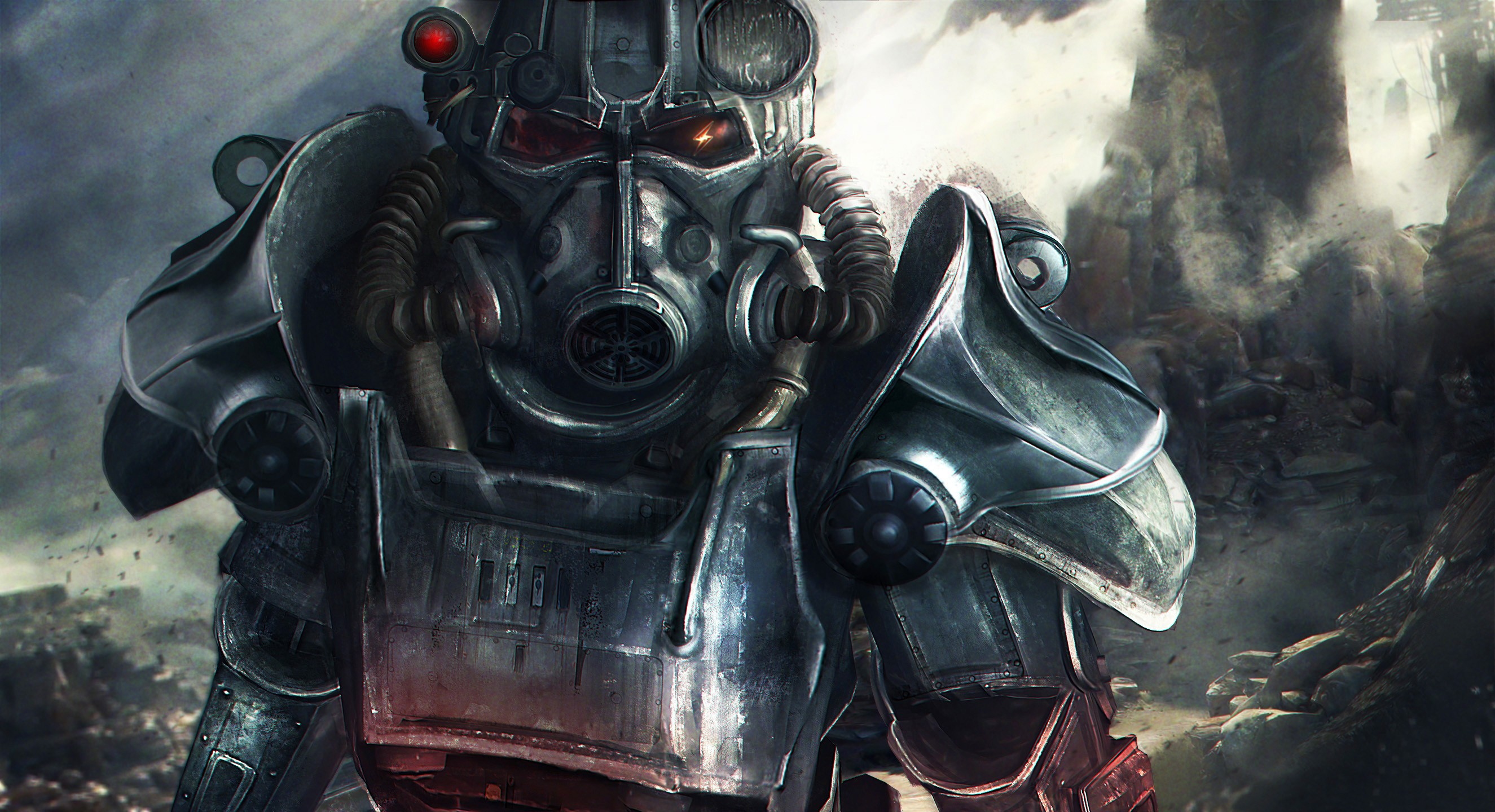 Apocalyptic Brotherhood Of Steel Fallout 4 Nuclear Bethesda